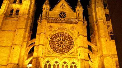 León: Kathedrale Sta. Maria de la Regla