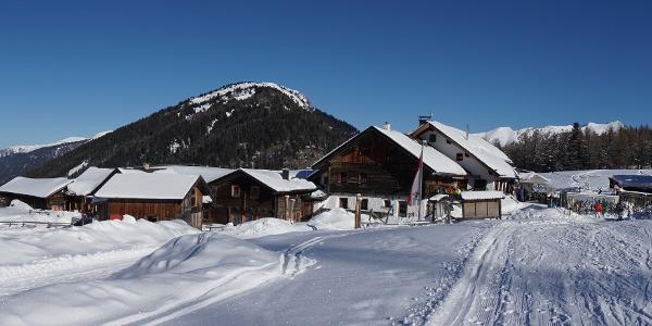 Sattelbergalm Winter