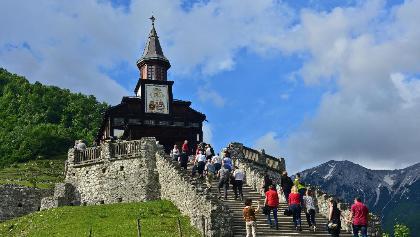 Memorial Church of the Holy Spirit in Javorca, European heritage monument
