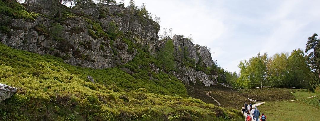 Großer Pfahl - Ostseite