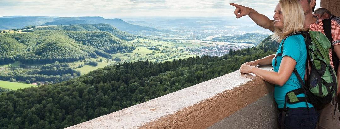 Aussicht vom Roßbergturm