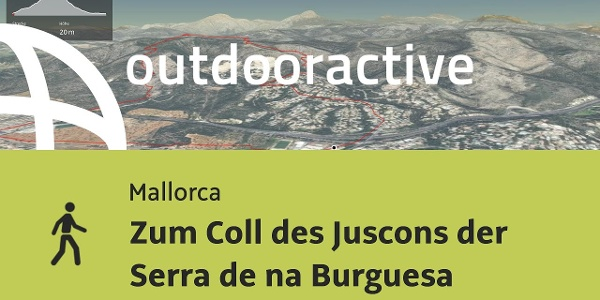 Senderismo en Mallorca: Al Coll des Juscons en la Serra de na Burguesa