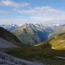 Blick ins Oberbergtal