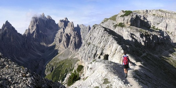 Einstieg in den Sentiero Bonacossa