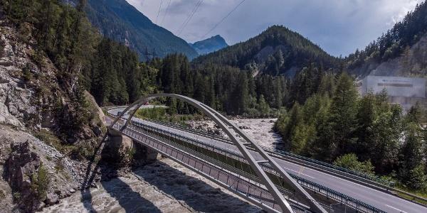 Radbrücke Ötztal Radweg