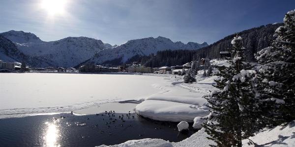 Obersee im Winter