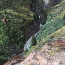 Rofental river gorge