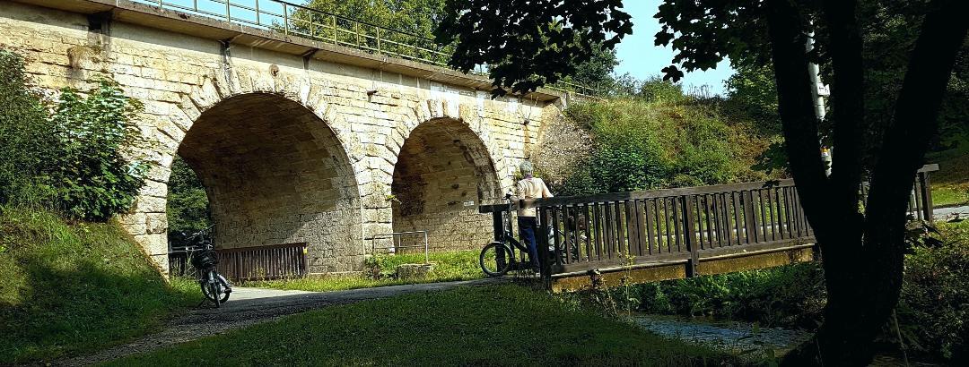 Radweg Weigendorf-Öd-Etzelwang durch die Bahnunterführung -Hersbruck-Sulzbach Rosenberg