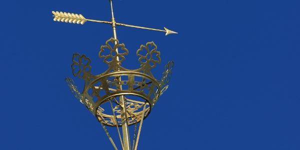 Das Krönchen auf der Siegener Nikolaikirche