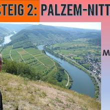 Moselsteig 2 - die Mosel von oben | Etappe Palzem-Nittel | Wandern an der Mosel | Dirk Kunze | # 65
