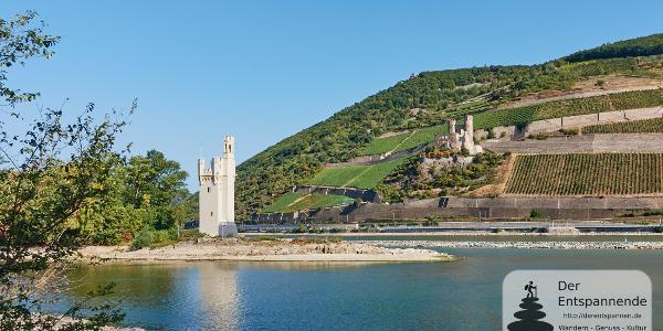 Mäuseturm und Burg Ehrenfels