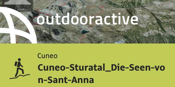 Bergtour in Cuneo: Cuneo-Sturatal_Die-Seen-von-Sant-Anna