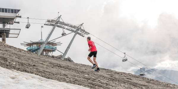 Gletscher Trailrun