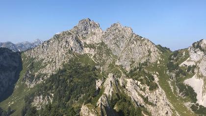 Blick vom Brunnenkopf Richtung Klammspitz