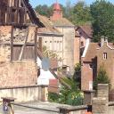 Blick auf La Petite Pierre von Altenburg