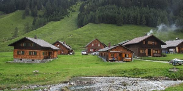 Die einzelnen Hütten sind wunderschön restauriert und haben ihren Flair behalten