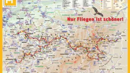 Streckenverlauf Sauerland Höhenflug