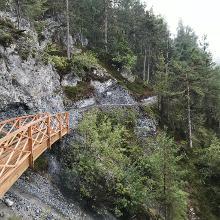 Neue Brücke bei ca. km5