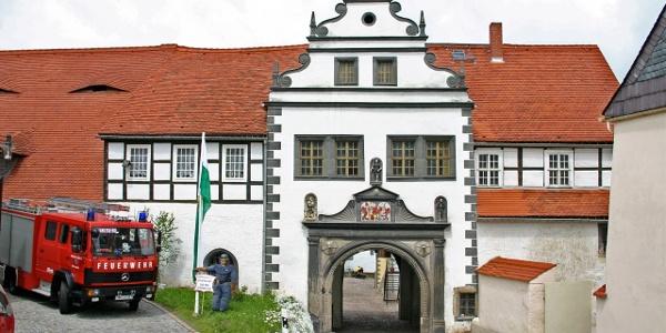 Administrative Centre Lauenstein - Gateway house to the farmyard