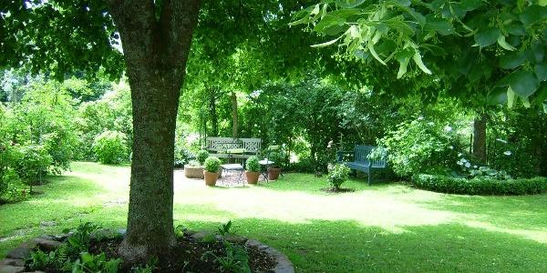 Urlaub im Bauernhaus Groß in Meckenbach - Garten