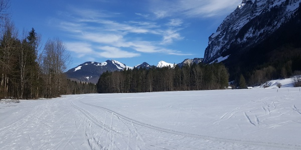 Winterwandern in Mellau