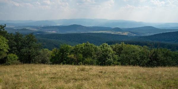 Dunakanyari panoráma a Nagy-Koppányról
