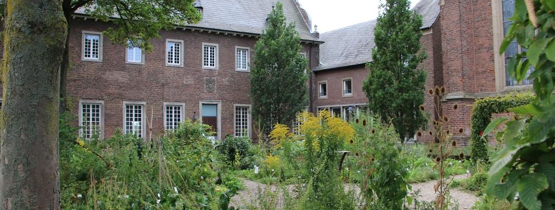 Kräutergarten Kloster Kamp - der heilsame Garten