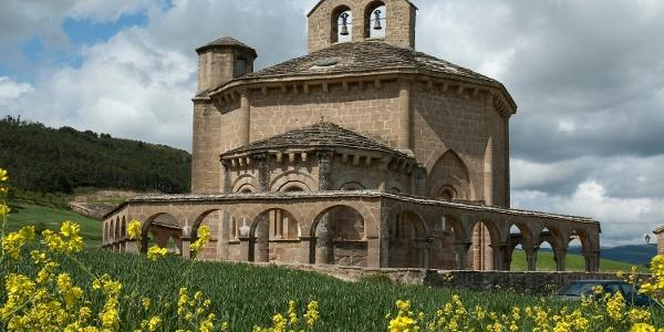 Templerkirche Nuestra Señora Eunate (12.Jh.)