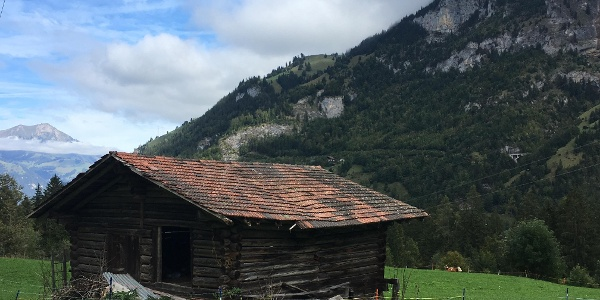 A farm en route to the Blausee from Kandersteg