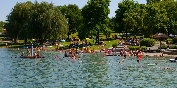 Nichtschwimmerbereich am Naturerlebnispark Schlosssee Salem