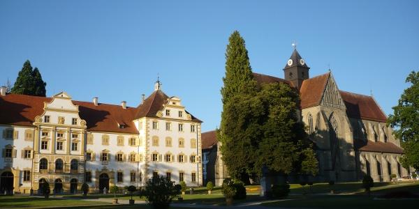 Prälatur und Münster von Schloss Salem