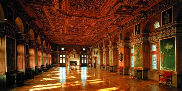 Schloss heiligenberg Rittersaal
