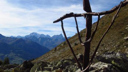Blick zum Mont Blanc
