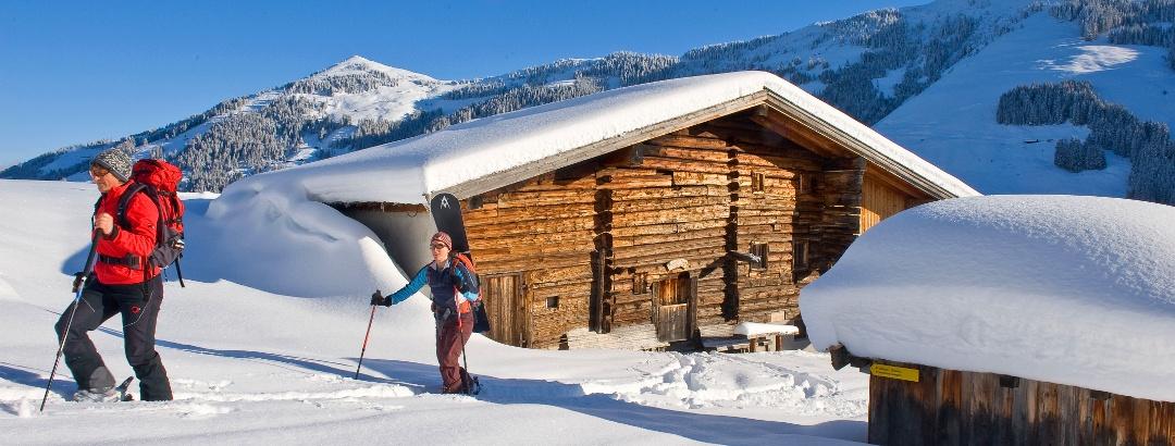 Aufstieg Skitour Alpbach