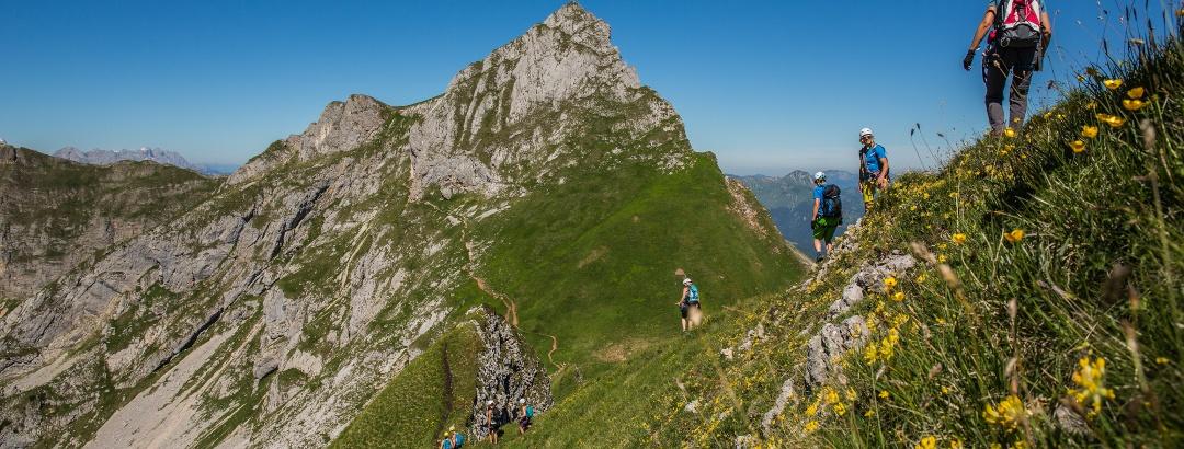 Klettersteig am Spieljoch