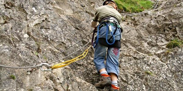 Klettersteig Chäligang.