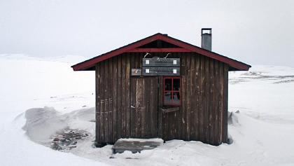 Kopmajoki wilderness hut
