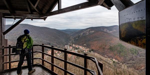 The view over Szarvaskő