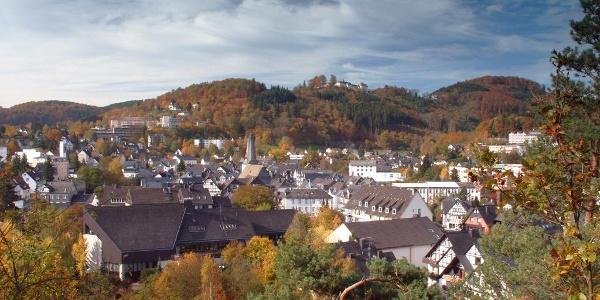 Blick über die Altstadt Bad Laasphe