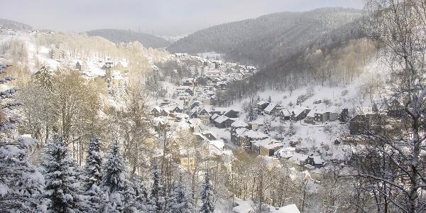 Lauscha im Winter