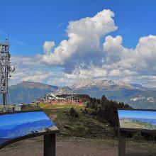 Panorama con il rif. Paion