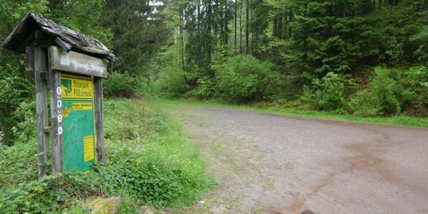 Startpunkt ist der Parkplatz in Hornesselwiese