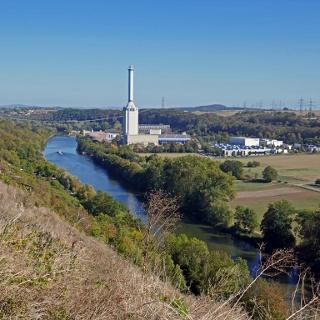 Über dem Neckar
