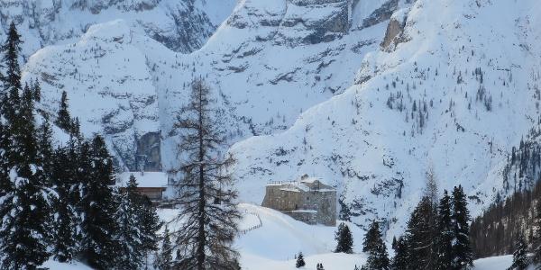 verschneite Festung Plätzwiese