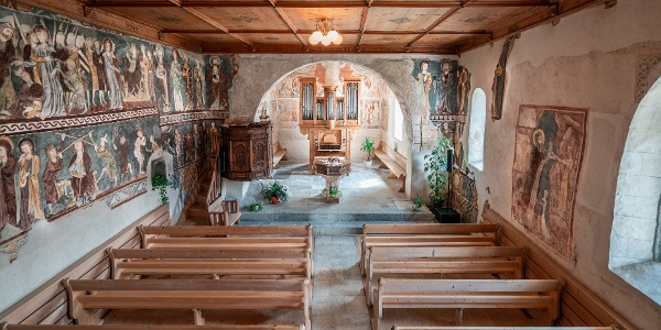 Kirche in Waltensburg
