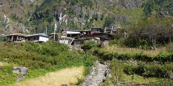 schöne Dörfer laden zum Verweilen ein