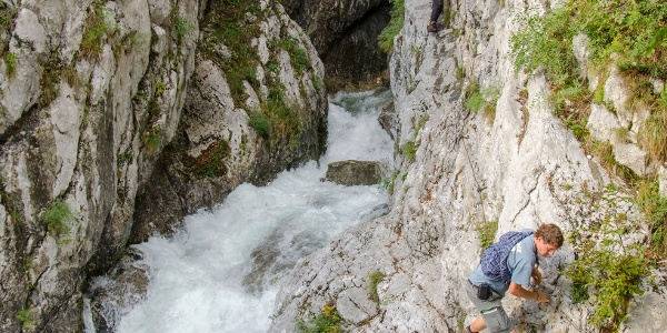 The source of the Soča river
