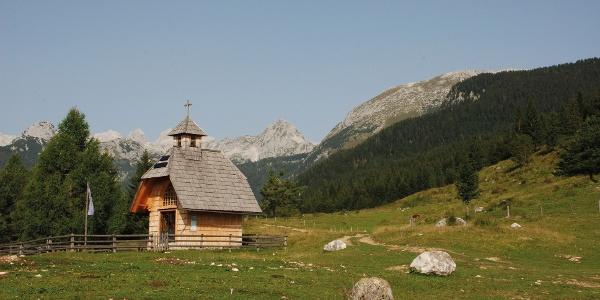 Kapelle auf Uskovnica