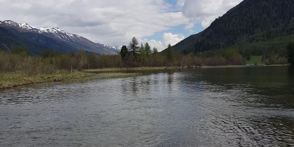 Gravatscha lake