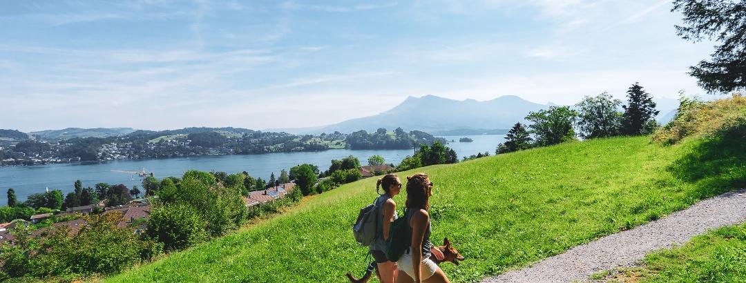 Wandern in der Erlebnisregion Luzern-Vierwaldstättersee